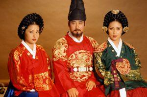 ドラマ『王妃チャン・ノクス~宮廷の陰謀~』ではユ・ドングンが燕山君(ヨンサングン)を演じた
