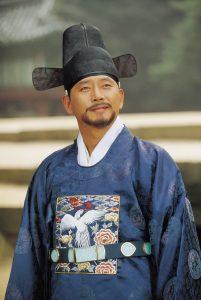 『ホジュン 宮廷医官への道』で許浚を演じたチョン・グァンリョル